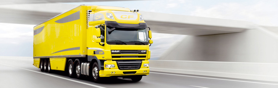 DAF CF series - distribution