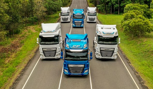 DAF XF AND CF REWARDED WITH GOOD DESIGN AWARD