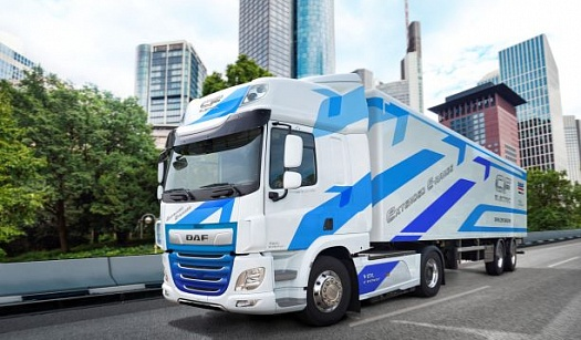 DAF INTRODUCES CF ELECTRIC WITH EXTENDED RANGE