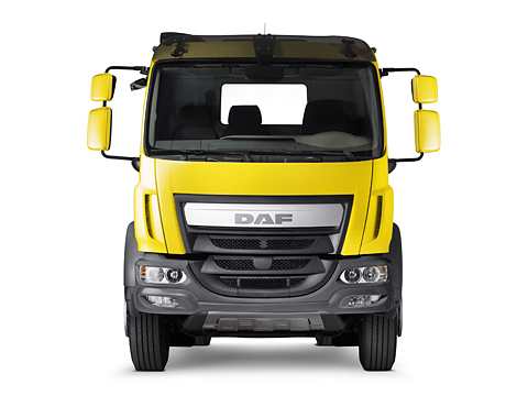 DAF LF Construction Exterior dashboard